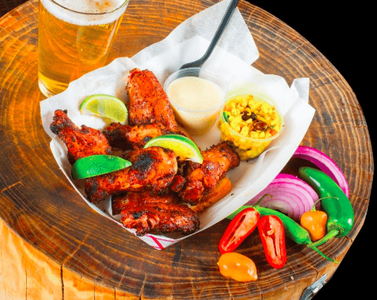 Cigars and Stripes BBQ Lounge Wings