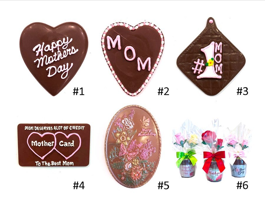 chocolate, candy, mother's day