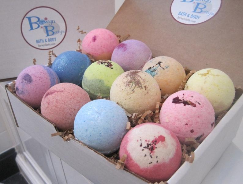 mother's day, Bath Bombs Berwyn Betty's