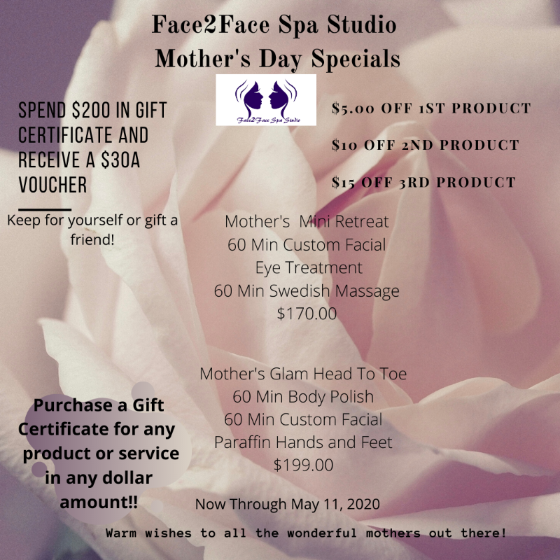 spa, gift card, facial, face