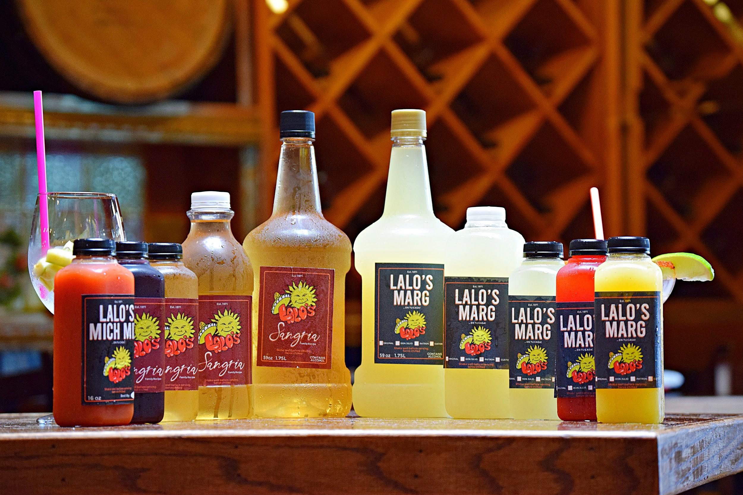 Lalo's: Famous Margaritas, Sangria and Micheladas To-Go
